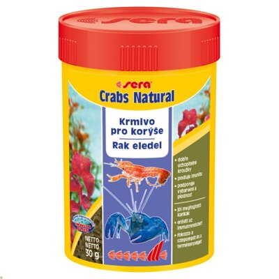 sera crabs natural 100 ml