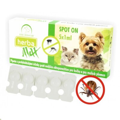 Herba Max BIO SpotOn Dog+Cat 5x1ml