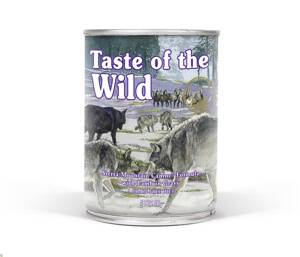 Taste of the Wild TOW Sierra Mnt Dog 375g