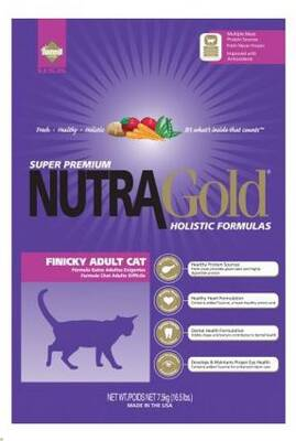 Nutra Gold Holistic Finicky Cat